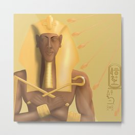 Blessings from the Aten Metal Print