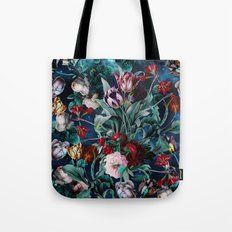 NIGHT FOREST X Tote Bag