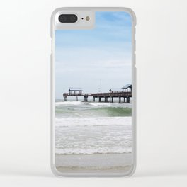 clearwater beach, fl Clear iPhone Case
