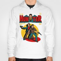 comic Hoodies featuring Hunter Comic by harebrained