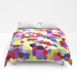 Colorful pattern no. 3 Comforters