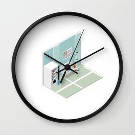 BTS - Isometric Love Yourself Wall Clock
