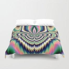 Fractal Moth Duvet Cover
