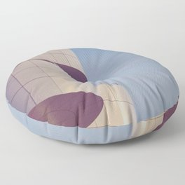 Structured Waves Floor Pillow