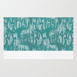 Blue Coral Rug