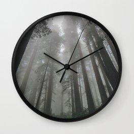 Cloud Sweepers Wall Clock