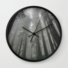 Cloud Sweepers Wall Clock