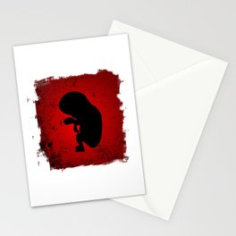 Baby Fetus Stationery Cards