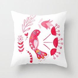 Bird of Hope Throw Pillow