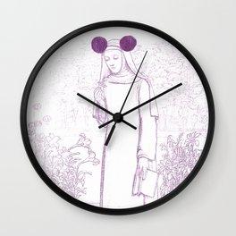 Longing for Singalongs Wall Clock