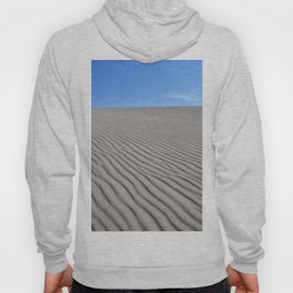 View from right on top of the tallest dune in North America at Great Sand Dunes National Park and Pr Hoody