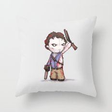 Plushie Boomstick Throw Pillow