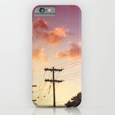 Red hot summer sun set iPhone 6s Slim Case