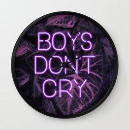 Boys Don't Cry Wall Clock