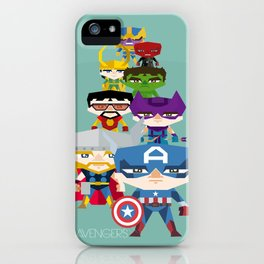 avengers 2 fan art iPhone Case