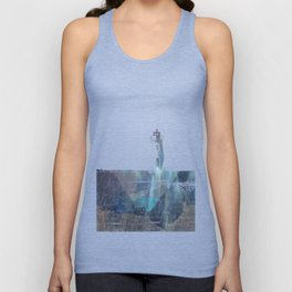 Distant Lighthouse Unisex Tank Top