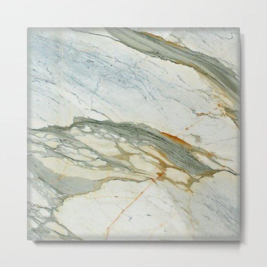 Classic Italian Marble Metal Print