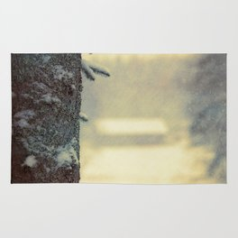 Country winter Rug