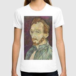 Reproduction of Van Gogh - Self Portrait T-shirt