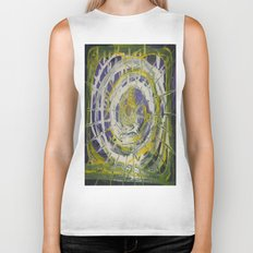 Earth Goddess Abstract Art Biker Tank
