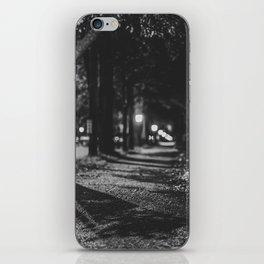 Urban / Streetlight / Night / Photography iPhone Skin