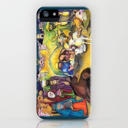 Peace on Earth Nativity iPhone Case