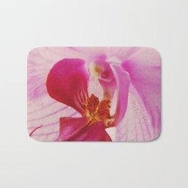 Close up Orchid #3 Bath Mat