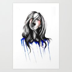 In Our Wildest Moments // Fashion Illustration Art Print