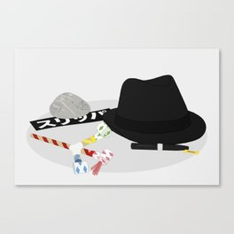 2010: Spy Canvas Print