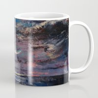 the moon Mugs featuring Moon by Michael Creese