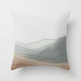 Landscape Illustration Art #3 Throw Pillow