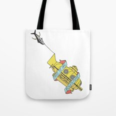 This Is An Adventure | The Life Aquatic with Steve Zissou Tote Bag