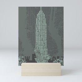 Empire State NY Mini Art Print