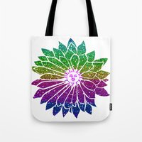 sunflower Tote Bags featuring SunFlower by haroulita
