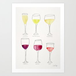 Wine Collection Kunstdrucke