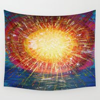 kindle Wall Tapestries featuring :: OneSun :: by :: GaleStorm Artworks ::