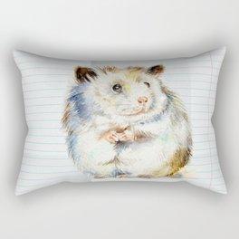 The small hamster Rectangular Pillow