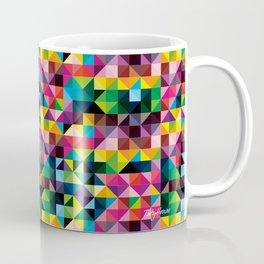 Triángulos de Colores Coffee Mug