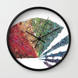 Fan Coming Apart Wall Clock