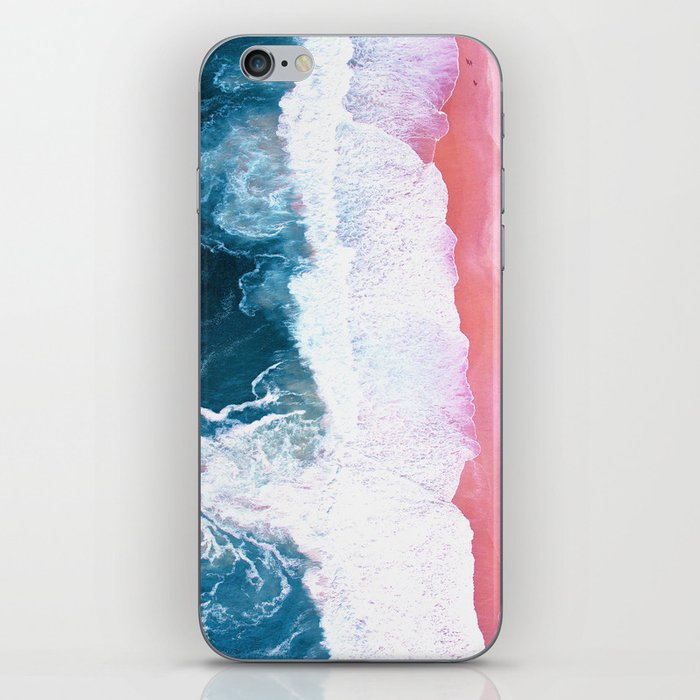 Aerial Coastal View iPhone Skin