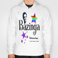 humor Hoodies featuring Sheldon Humor by SwanniePhotoArt