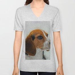 Beagle Unisex V-Neck