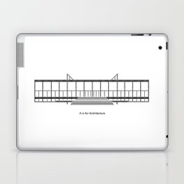 Mies - A is for Architecture Laptop & iPad Skin