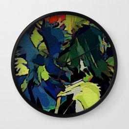 Garden Colors Wall Clock