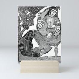 Shri Gobinda Chandra Roy - Vintage Indian Art Print Mini Art Print