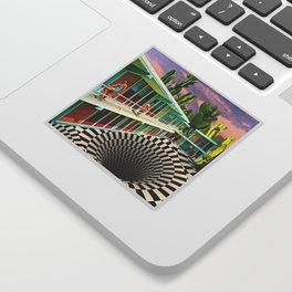 Time Warp Motel Sticker