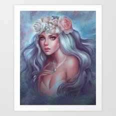 Pearlescent Beauty Art Print