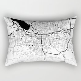 City Neck Gaiter Syracuse New York Map Neck Gator Rectangular Pillow