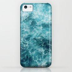 Blue Ocean Waves iPhone 5c Slim Case