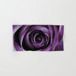 Purple Rose Decorative Flower Hand & Bath Towel
